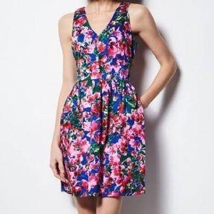 Milly for Design Nation Floral Fit & Flare